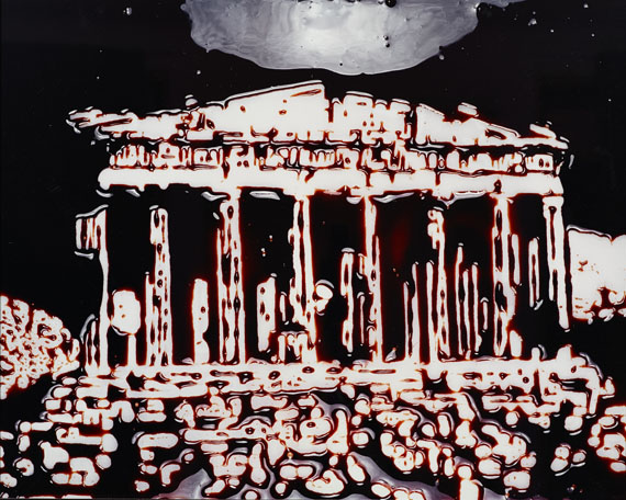 Vik Muniz, The Parthenon, 2003 © Vik Muniz, Courtesy Edwynn Houk Gallery