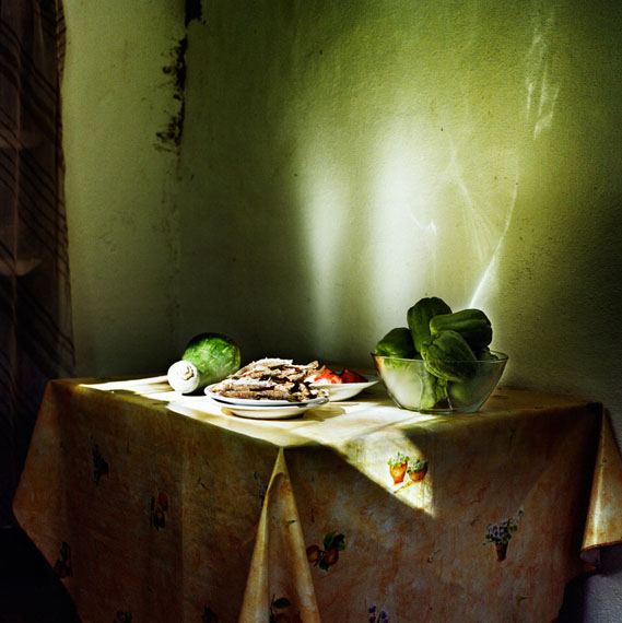 "Eugenia Maximova: ""Kitchen Stories from the Balkans III, 2010"", pigment print, 40 x 40 cm, Ed. 8+II AP"