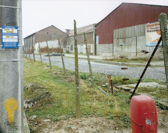Calais, France, 04.1996Chromogenic contact print from negative 8 x 10 in., 20x25 cm© Guido Guidi