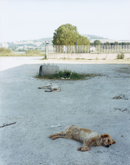 Atri (Teramo), Italy, 05.2003Chromogenic contact print from negative 8x10in., 25x20 cm© Guido Guidi
