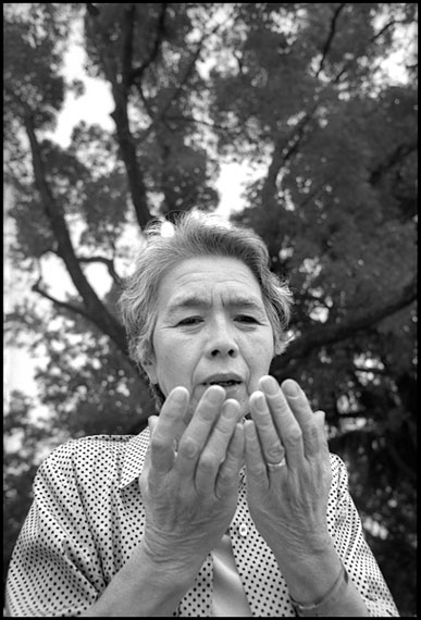 Marissa Roth: Setsuko Iwamoto, A-Bomb Survivor, Hiroshima, Japan 2002