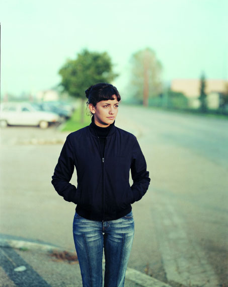 Silvia, Cesena, Italie, 28.10.2002 Chromogenic contact print from negative 8x10in., 25x20 cm© Guido Guidi