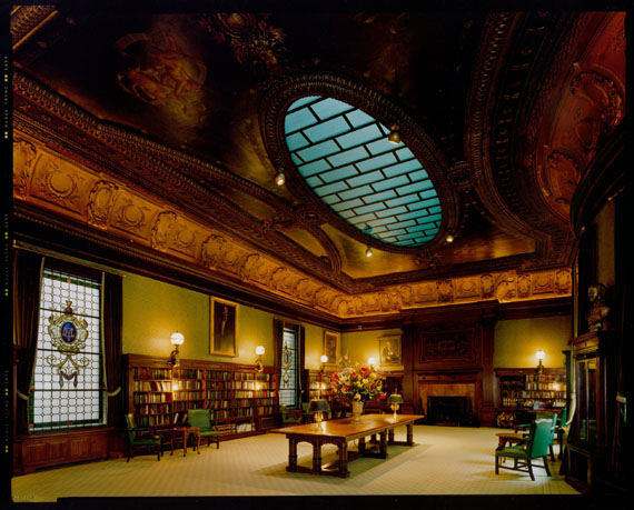 Metropolitan Club, View of Library © Jim Dow