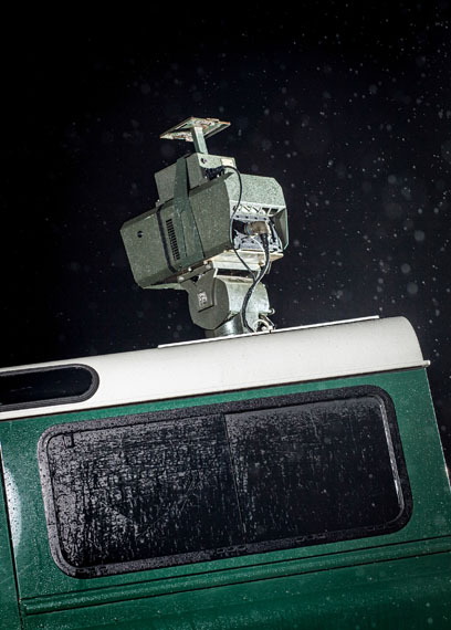 Julian Röder: Thermal Imaging Camera, Northern Greece, 2012, aus der Serie Mission and Task, 20122013, Archival pigment print, 152 x 109 cm© Julian Röder, courtesy Russi Klenner, Berlin