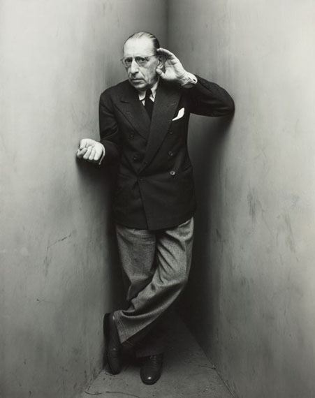Irving Penn Igor Stravinsky, New York, 1948Gelatin silver print 19.5 х 15.5 in. Est. US$20,000–30,000