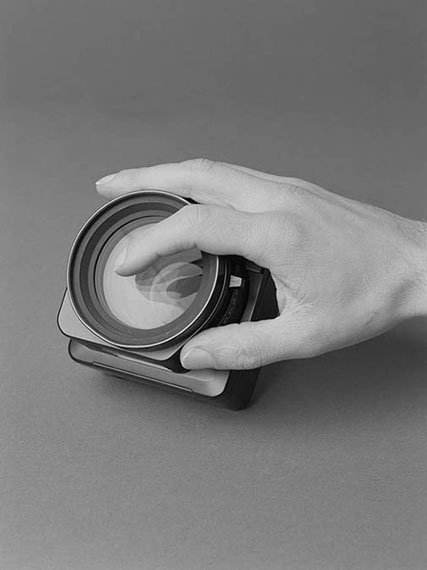 Philipp Dorl: Finger on Lens, 2012
