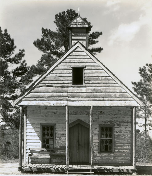 Walker Evans: Negro Church, South Carolina, 1936 © Library of Congress. Courtesy of Howard Greenberg Collection