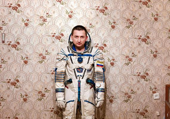 Vincent Fournier: SPACE PROJECT - General Boris V., Yuri Gagarin Cosmonaut Training Center [GCTC], Star City, Zvyozdny Gorodok, Russia 2007