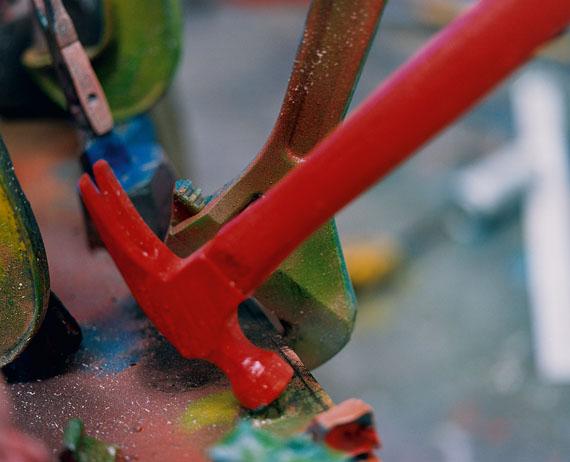 Jim Dine: The Glass Blower's Table, 2013© Jim Dine; VG Bild-Kunst, Bonn, 2014