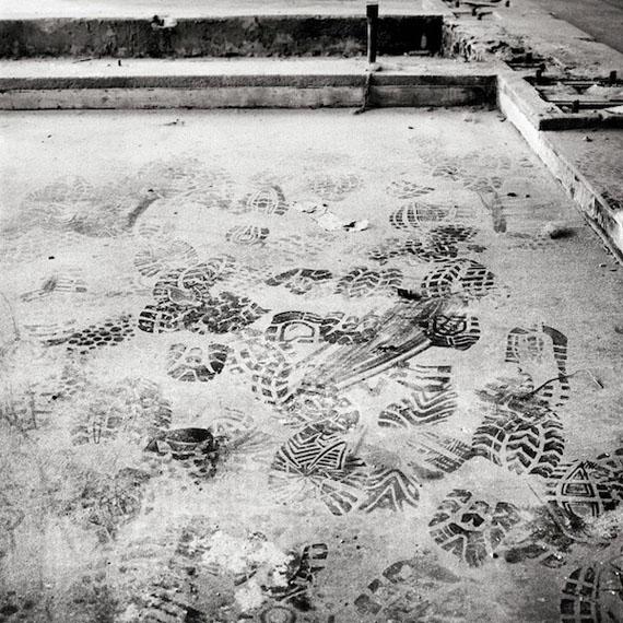Massimiliano Camellini: Leumann 10, Collegno, Digital print, 100×100 cm, 2011 © Massimiliano Camellini