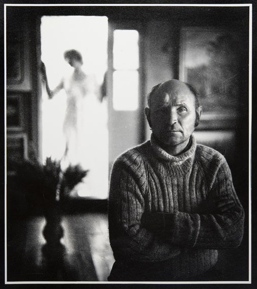 Anatoly Dudkin Village Artist Aleksey Gamin, 1980Gelatin silver print