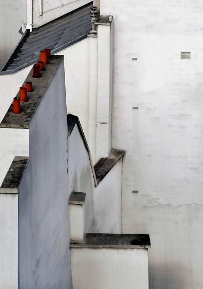 """MICHAEL WOLF: """"Paris Rooftops No.7"""" (2013) C-Print. 173cm x 122cm – Edition of 9"""