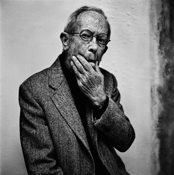 Anton Corbijn | Elmore Leonard, The Hague 2011 | Inwards and Onwards | 146 x 146 cm | Edition of 6 + 2 APGalerie Anita Beckers | Frankfurt