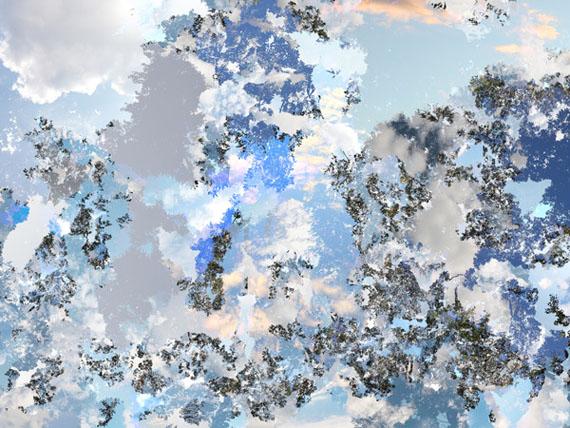 Air Blue 11, 2014 © Kazuo Yoshida/G/P gallery