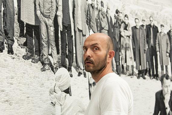 Hans-Jürgen Raabe: 990 faces, Face 157, Documenta 13, Germany
