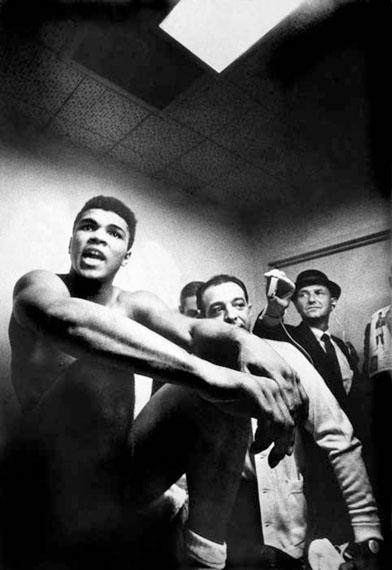 Muhammad Ali, 1965 © Lawrence Schiller