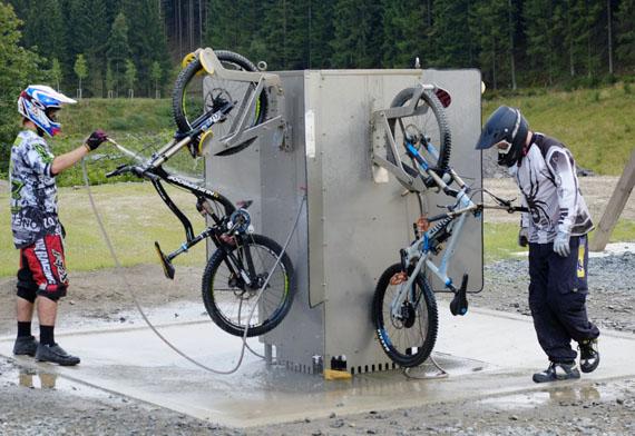 Mountainbiker, Winterberg