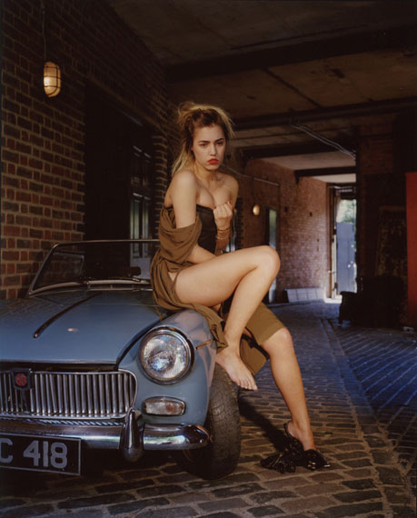 © Bettina Rheims, Bonkers - A Fortnight in London, Amber le Bon has lost her Car Keys 2013