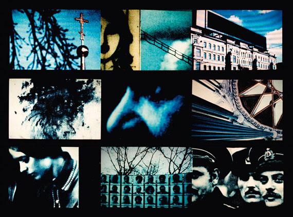Klaus Mettig: Vor dem Licht (Polarisation), 1985, VG Bild-Kunst, Bonn