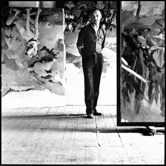 Lothar Wolleh: Georg Baselitz, 1971