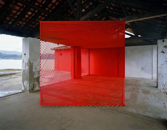 Georges Rousse: Paraty, 2010, ink jet print, 110 x 130 cm, Edition 10 © Georges Rousse, ADAGP