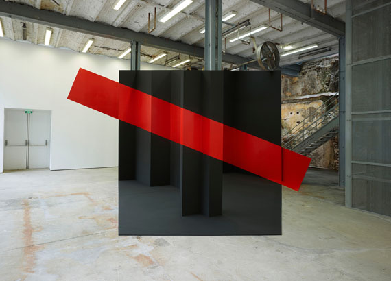 Georges Rousse: Thiers, 2014, c-print, 125 x 155 cm, Edition 5 © Georges Rousse, ADAGP