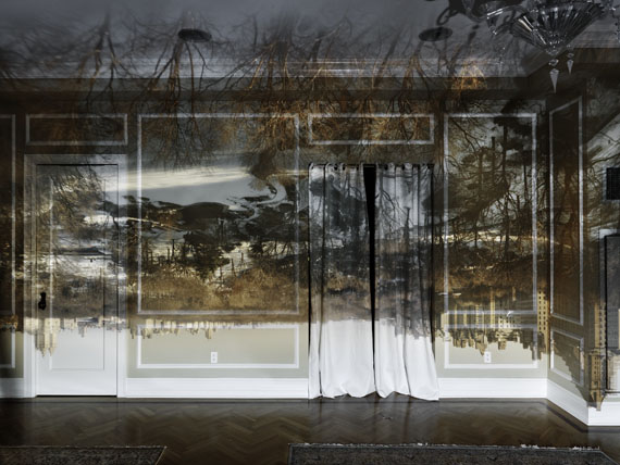 Camera Obscura: View of Central Park Looking North, Winter, 2013 ©Abelardo Morell/Courtesy of Edwynn Houk Gallery, New York
