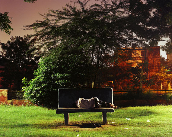 UNTITLED, FROM SLEEPERS, 2007-2012DHRUV MALHOTRA, INDIAN, B. 1985COLOR PHOTOGRAPH, 24 X 30 1/4 IN.COLLECTION OF SANJAY PARTHASARATHY AND MALINI BALAKRISHNAN.© DHRUV MALHOTRA, PHOTO COURTESY OF PHOTOINK, NEW DELHI.