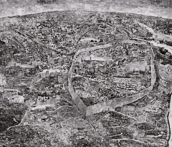 Diorama Map Jerusalem © Sohei Nishino