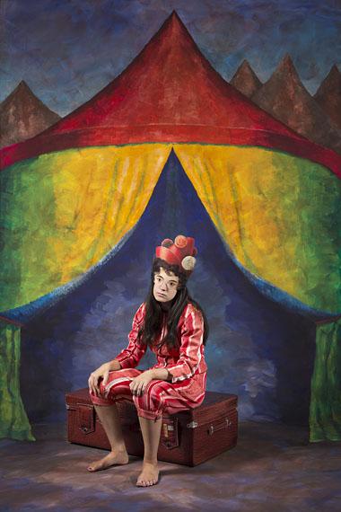Polixeni Papapetrou The Troubadour, 2014. Pigment print, 150cm x 100cm.  © Polixeni Papapetrou