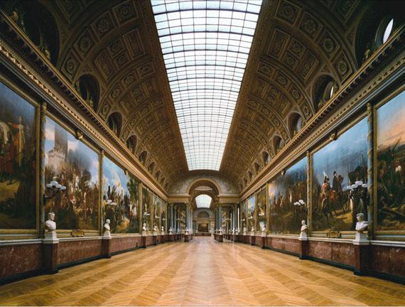 Galerie des Batailles, (148) ANR.02.002, Aile du Midi - 1er Etage, Versailles, 1985© Robert Polidori, courtesy Edwynn Houk Gallery
