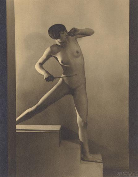 "Frantisek Drtikol. ""THE MOVEMENT"". 1927. Vintage. Pigment print.. 11 ¼ x 8 ¾ in."