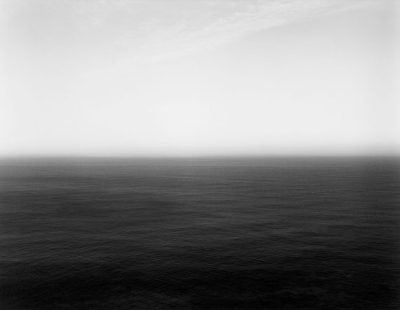 """Hiroshi Sugimoto""""SEA OF JAPAN HOKKAIDO II"""", FROM THE SERIES """"SEASCAPES"""". 1986Gelatin silver print44,8 x 58 cm (50,5 x 60,5 cm) (17 5/8 x 22 7/8 in. (19 7/8 x 23 7/8 in.))Signed, dated, titled and numbered in pencil on the reverse. Numbered in the margin lower right with blindstamp. One of 25 numbered prints."""
