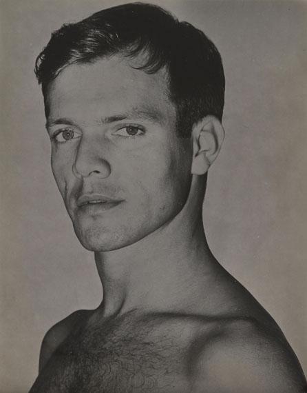 161. Paul Facchetti (1912-2010)Truman Capote, 1952.Vintage gelatin silver print, solarized.