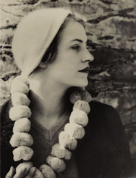 Lot No. 29Man Ray, Lee Miller with a sponge necklace, 1930-31Silver print Estimate: €40,000-60,000