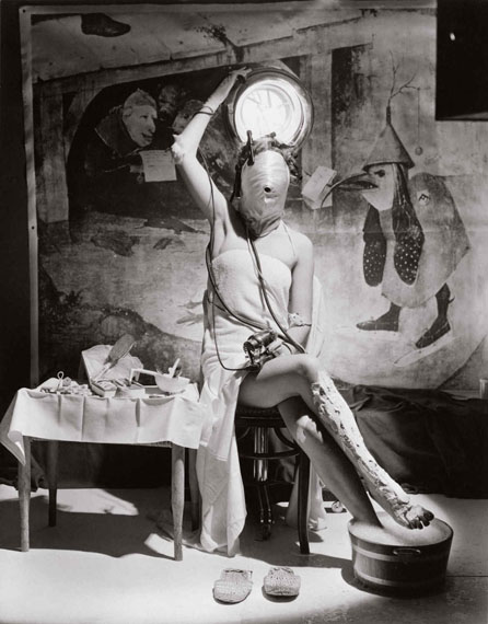Horst P. HorstElectric Beauty, Paris, 1939Platinum palladium print22 x 17 1/2 in.© Horst Estate