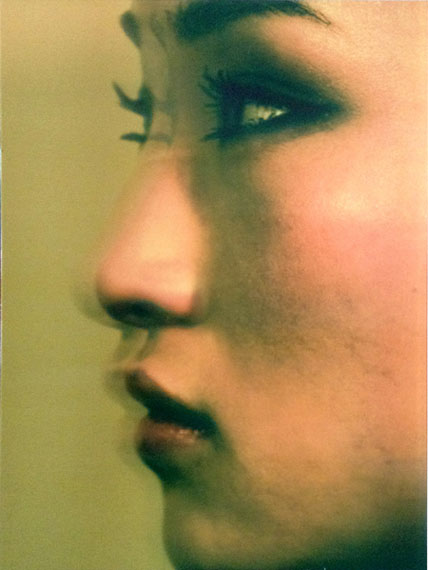 Profile of A Young Woman (2014) Lenticular photograph 120cm x 90cm – Edition of 3 © Han Lei / M97 Gallery