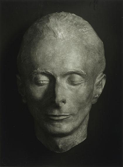 August Sander Death Mask of Erich Sander, 1944Gelatin Silver Print, printed later© 2014 VG Bild-Kunst, Bonn, Die Photographische Sammlung/SK Stiftung Kultur, CologneCourtesy by FEROZ Galerie, Bonn