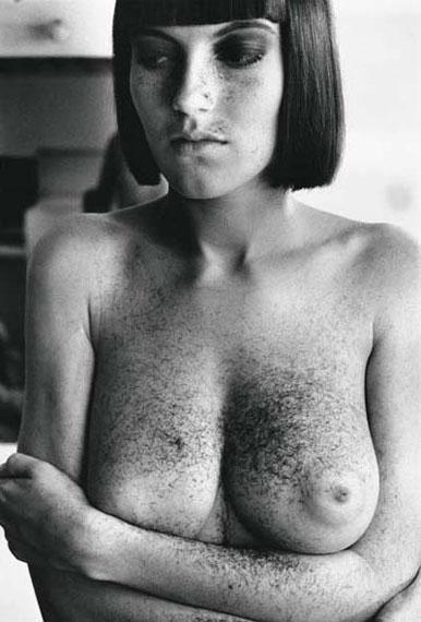 Helmut NewtonArielle after a haircut, Paris, 1982© Helmut Newton Estate