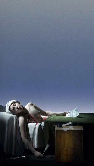 Art Basel | Kabinett | Robert WilsonGalerie Thomas Schulte Robert WilsonLady Gaga The Death of Marat, 2013Courtesy the artist and the gallery