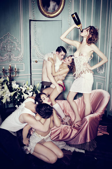 Ellen von Unwerth · When the Cat is Away · 2011