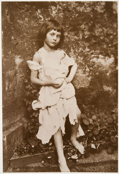 Lewis Carroll (Charles Lutwidge Dodgson). Alice Liddell as the Beggar Maid. From the Collection of Tomsk Regional Art Museum, 1859