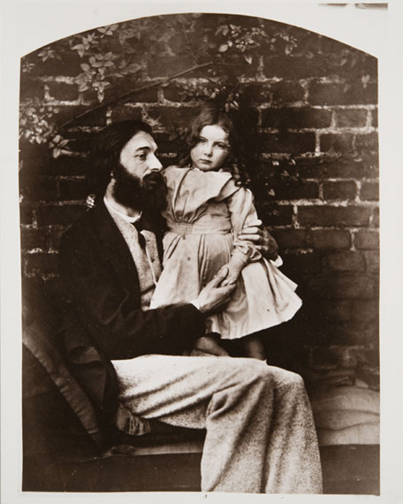 Lewis Carroll (Charles Lutwidge Dodgson). Arthur Hughes and his Daughter Agnes. From the Collection of Tomsk Regional Art Museum, 12.09.1863
