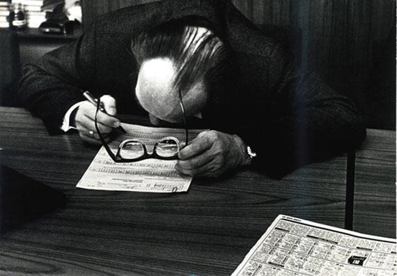 Lehrer am Oberhausener Kolleg, 1960er Jahre © Rudolf Holtappel