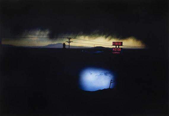 ERNST HAAS (1921-1986)Western Skies Motel, Colorado, 1978Large-format digital chromogenic print, printed 201423 1/2 x 34in$6,000 - 8,000