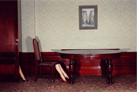 Guy Bourdin: Charles Jourdan, 1979 © Estate of Guy Bourdin, courtesy of Michael Hoppen Gallery