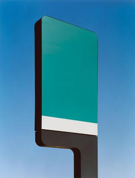Grün schwarz, 2009, C-Print, 132,2 x 100 cm © Josef Schulz