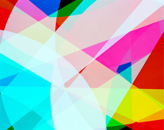 "Niko Luoma: ""Randomized Unfold IV"" 2014Archival pigment print / Diasecw/floater frame"