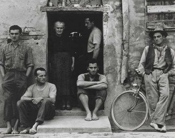 Paul StrandThe Family, Luzzara (The Lusettis), 1953Gelatin-silver print, 29 x 37 cmPhiladelphia Museum of Art, The Paul Strand Collection© Estate of Paul Strand
