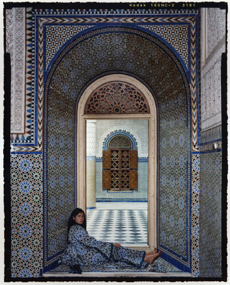 Harem #14C, 2009 © Lalla Essaydi